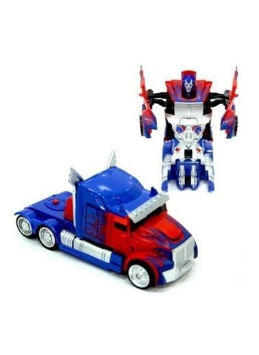Kızılkaya Oyuncak Robota Dönüşen Transformers Optimus Prime Çek Bırak Tır Kamyonet Renkli